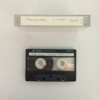 Mike Amadeo Interview, Tape 1