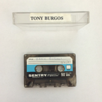 Tonio Burgos Interview, Tape 1